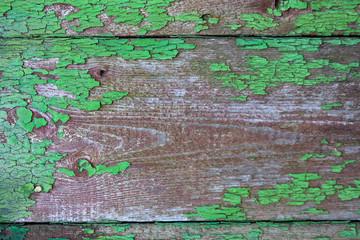 Altes Holzbrett lackiert