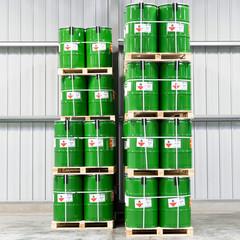 Lagerung von Fässern // industrial Storage