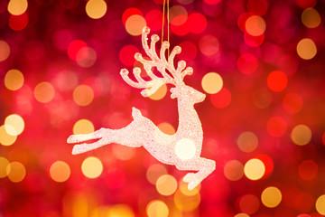 Santa Clause reindeer Rudolph