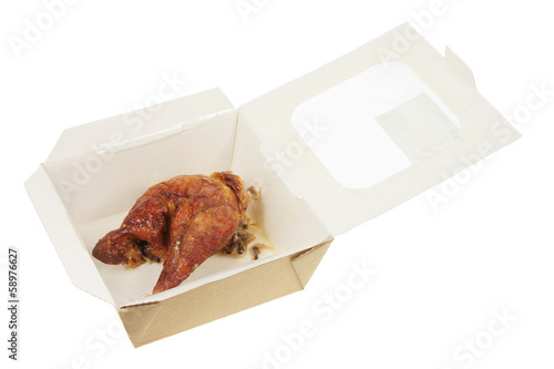 Roast Chicken in Box