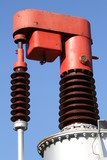 device for high-voltage electric transformer to vary the output poster