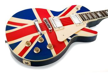 brit pop electric guitar