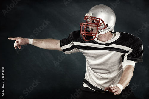 Quarterback macht Ansage - American Football