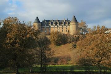 Château de Rochechouart.(Haute-Vienne)