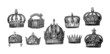9 Historic Crowns - 58982032