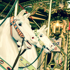 French carousel in Paris