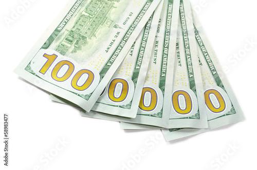 New 100 $ cash