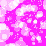 Abstract background pink bokeh circles