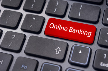online or internet banking concepts