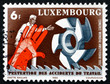 Postage stamp Luxembourg 1980 Man, Hand and Tools
