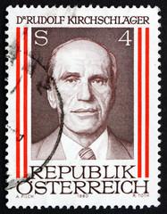 Postage stamp Austria 1980 Rudolph Kirchschlager