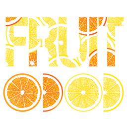 Zitrusfrüchte, Zitronen und Orangen
