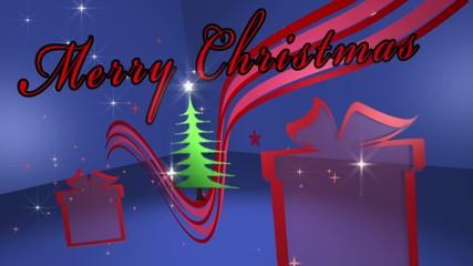 Stanza di auguri di buon natale Merry merry