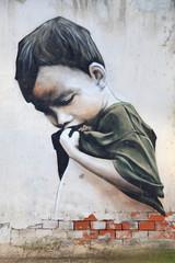 graffiti niño pobre 0164f © txakel