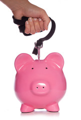 controlling your money piggy bank