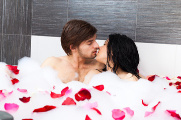couple in bathroom