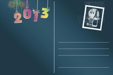 Jahreswechsel Postkarte  © Matthias Buehner