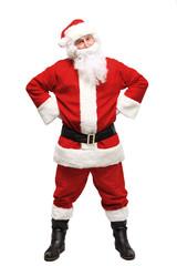 Happy traditional Santa Claus