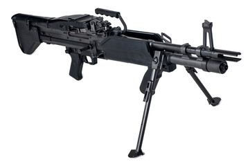 Machine Gun M60 isolated