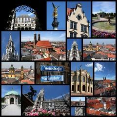 Munich, Germany photo collage