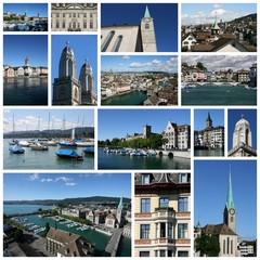 Zurich collage