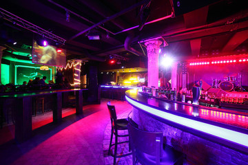 modern night club in european style