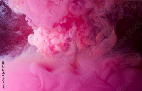 pink smoke - 58999411