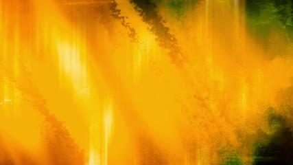Yellow Streaks Grunge Abstraction loop