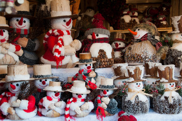 Weihnachtsdekoration am Christkindlmarkt