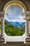 Bavarian Alps View