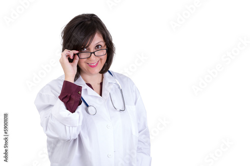 Sympathetic Health Care Employee Looking at you
