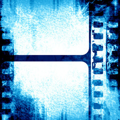 blue filmstrip