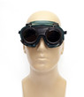 Green protective eyewear for welding