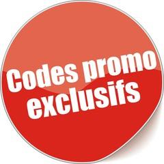 étiquette codes promo exclusifs