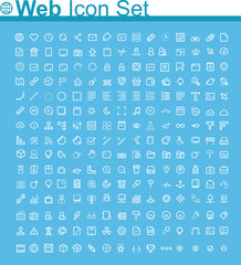 Web page icon set