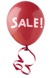 Red Sale Balloon