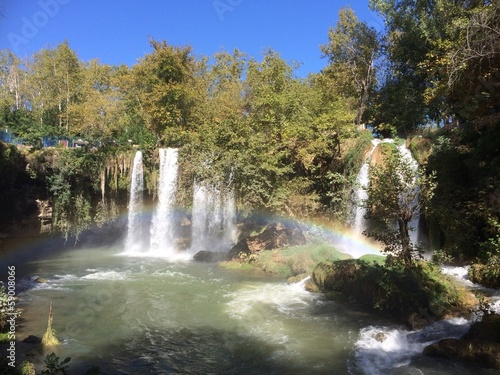 Duden Waterfalls Turkey