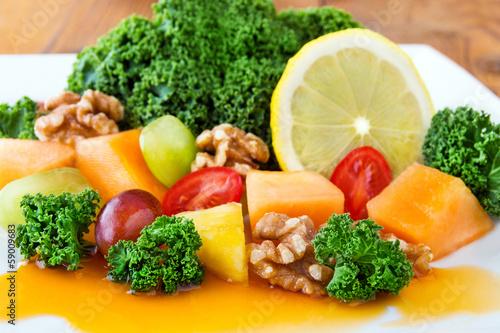 Grünkohl - Salat