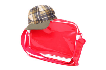 Bag and cap