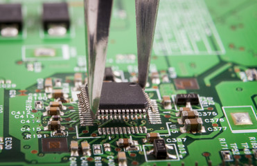 Microchip Mounting