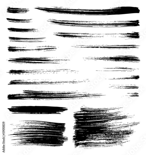 vector brush strokes