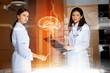 Two women doctors