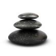 Three Pebbles Stacked