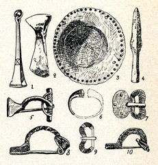 Middle iron age artefacts (Lithuania)