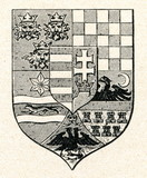 Hungarian coat of arms (ca. 1930)