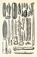 Magdalenian tools and weapons