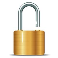 open padlocks