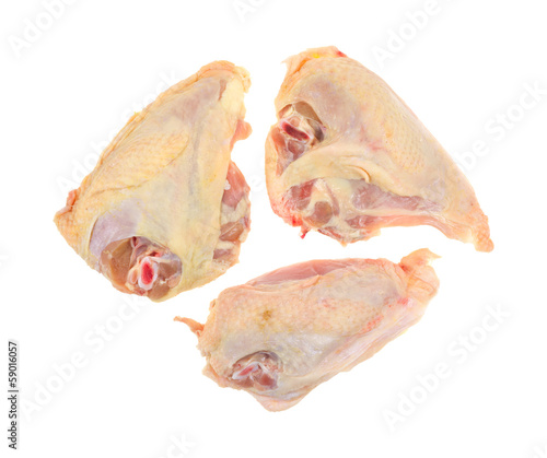 Skin on chicken breasts