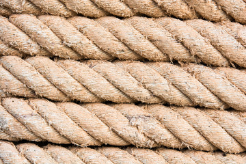 roll of ship ropes