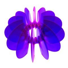 Astratto segno grafico oggetto fiore